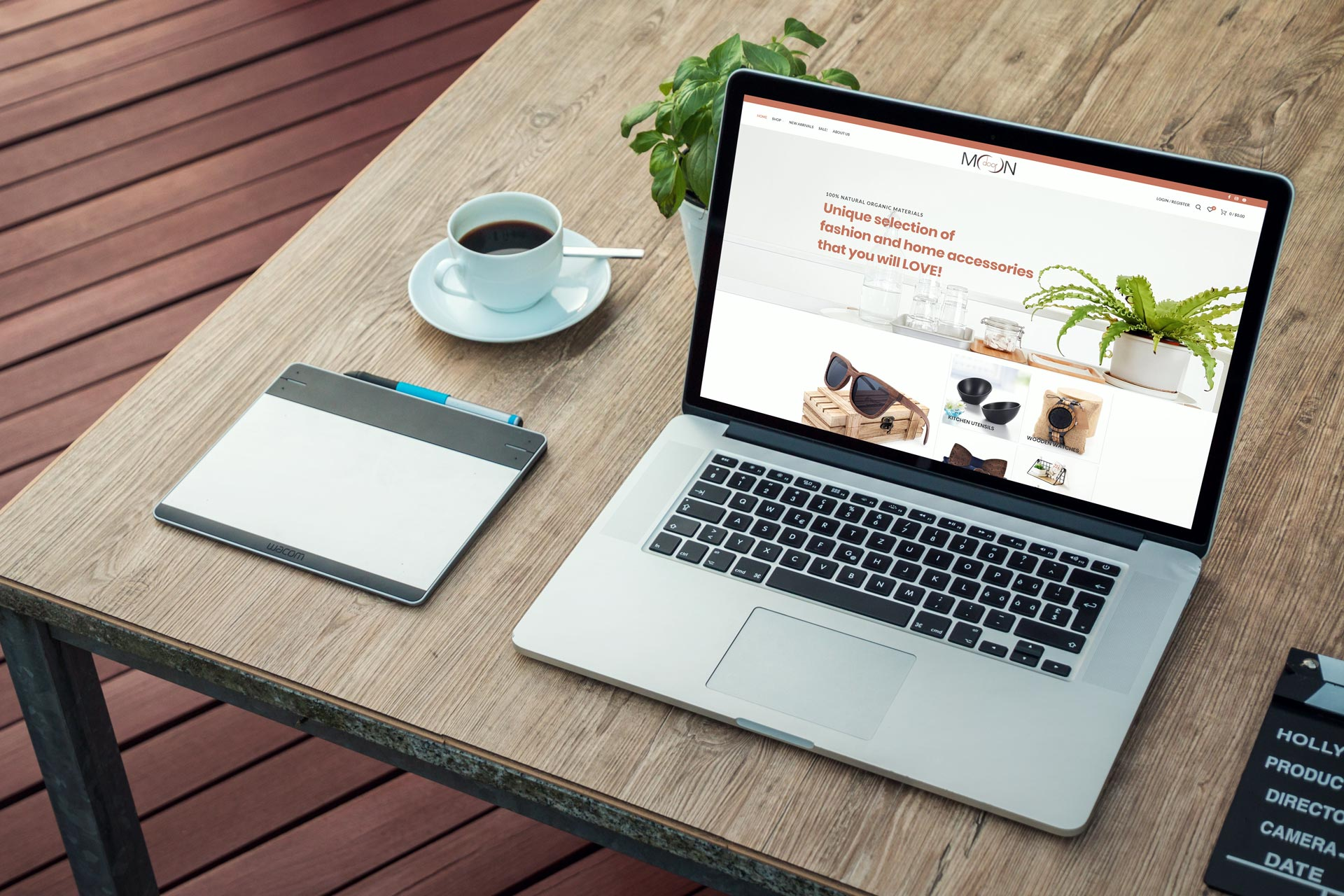 Moondoor Desktop design